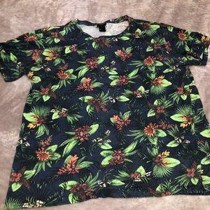 H&M Tropical shirt